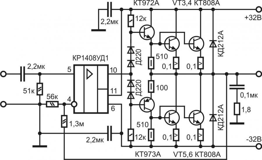 Транзисторный усилитель для начинающих на 300 ватт